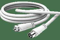 HAMA F-Stecker - Koax-Kupplung  SAT-Anschlusskabel