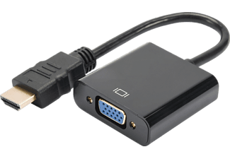 DIGITUS HDMI auf VGA Konverter, Grafik-Adapter