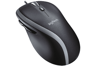 Ratón con cable - Logitech M500, Láser, Negro
