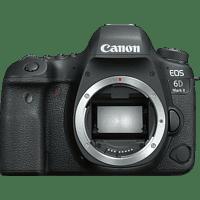 Cámara - Réflex Canon EOS 6D Mark II Body, 26.2 MP, Full HD, 4K en Time-lapse, Negro