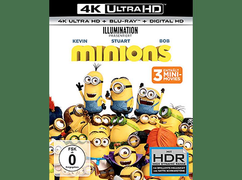 Minions [4K Ultra HD Blu-ray + Blu-ray]