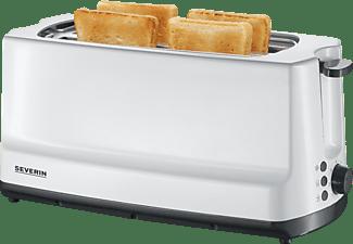 SEVERIN AT 2234 Toaster Weiß/Grau (1400 Watt, Schlitze: 2)