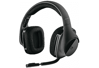 Auriculares gaming - Logitech G533, Inalámbricos, Micrófono, PC