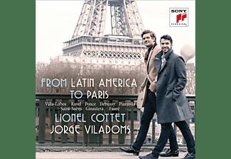 Lionel Cottet, Jorge Villadoms - Carnets de Voyage-From Latin America to Paris  - (CD)