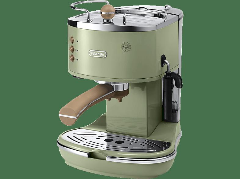 DELONGHI Icona Vintage ECOV 311.GR Espressomaschine Olive