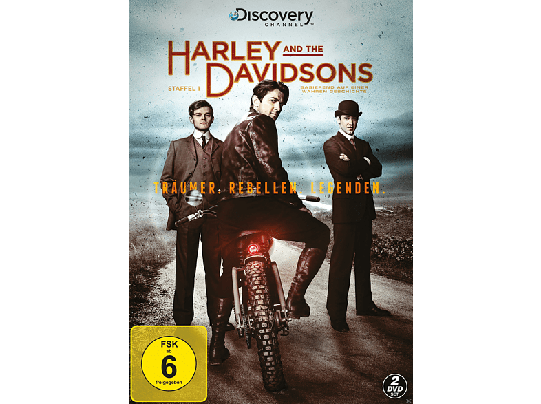 Harley & The Davidsons - Staffel 1 (Discovery) [DVD]