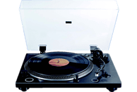 THOMSON TT600BT PROFI Plattenspieler (Schwarz/Tranparent)