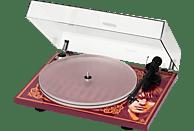 PRO-JECT Essential III George Harrison Plattenspieler (Rot/Orange)