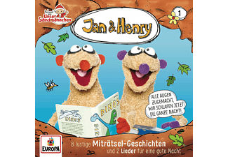 Jan & Henry - 001/8 Rätsel und 2 Geschichten  - (CD)