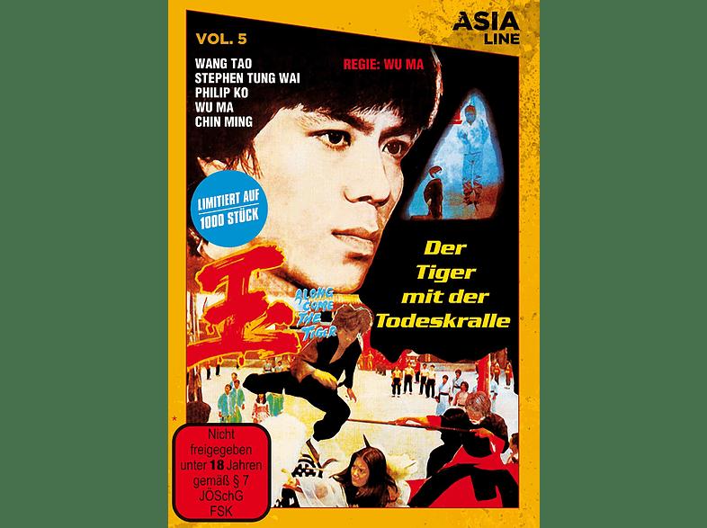 Asia Line: Der Tiger mit der Todeskralle (limitiert in gelber Amaray) [DVD]