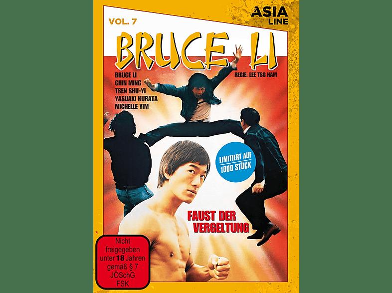 Asia Line: Bruce Li - Faust der Vergeltung (limitiert auf 1.000 Stück in gelber Amaray) [DVD]
