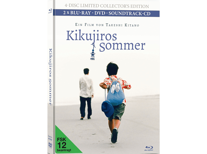 Kikujiros Sommer (4-Disc Limited Collector's Edition inkl. Soundtrack-CD) [Blu-ray + DVD]