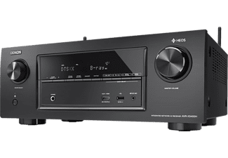DENON AVR-X3400H  AV-Receiver (7.2 Kanäle, 180 Watt pro Kanal, Schwarz)