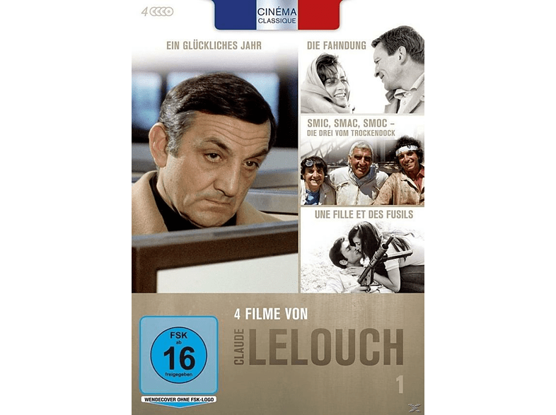 Claude Lelouch - Box 1 [DVD]