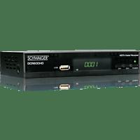 SCHWAIGER DCR600HD Kabel-Receiver (HDTV, DVB-C, Schwarz)