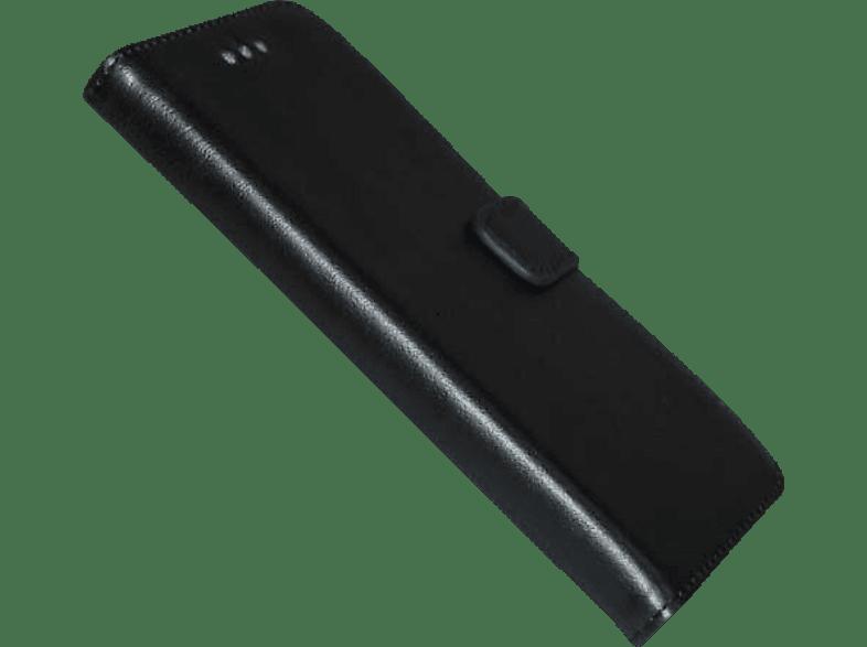 AGM 26627 , Bookcover, Huawei, P8 Lite (2017), Obermaterial Kunstleder, Schwarz
