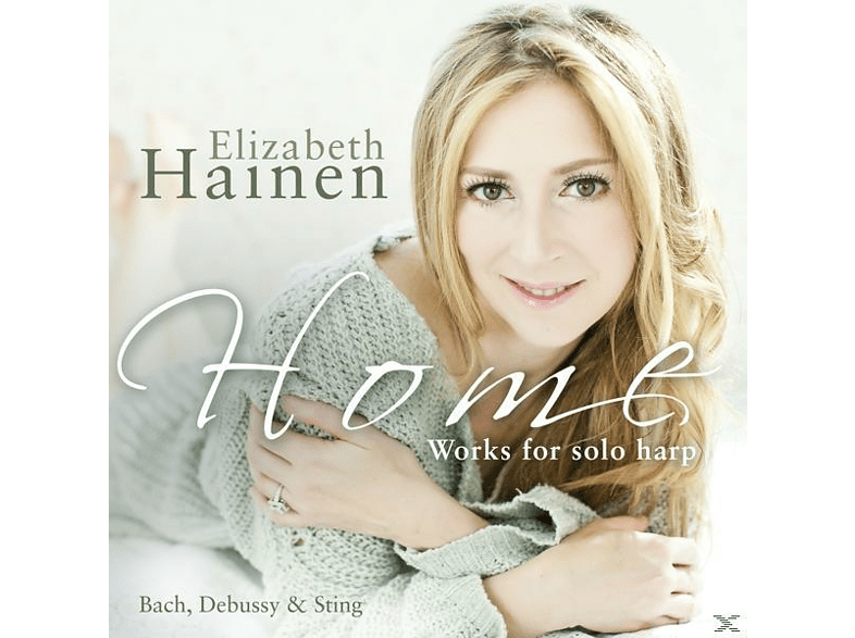 Elizabeth Hainen, David DePeters - Works For Solo Harp [CD]