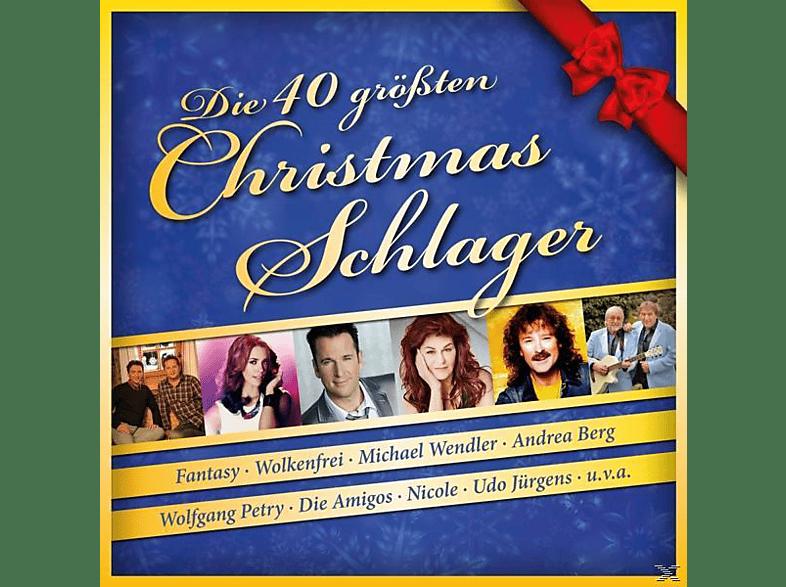 VARIOUS - Die 40 größten Christmas-Schlager [CD]