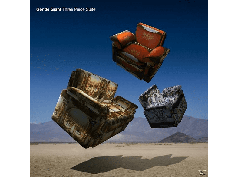 Gentle Giant - Three Piece Suite (Steven Wilson Mix/180g Gatefold [Vinyl]