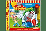 Benjamin Blümchen - Folge 136: Spuk im Zoo - (CD)