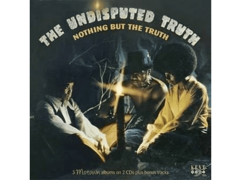 The Undisputed Truth - Nothing But The Truth-3 Motown Albums+Bonus [CD]