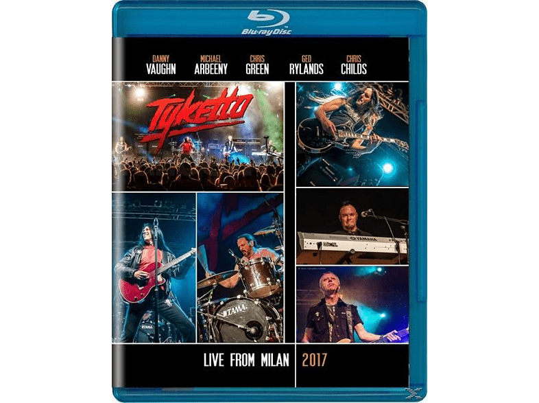 Tyketto - Live From Milan 2017 [Blu-ray]