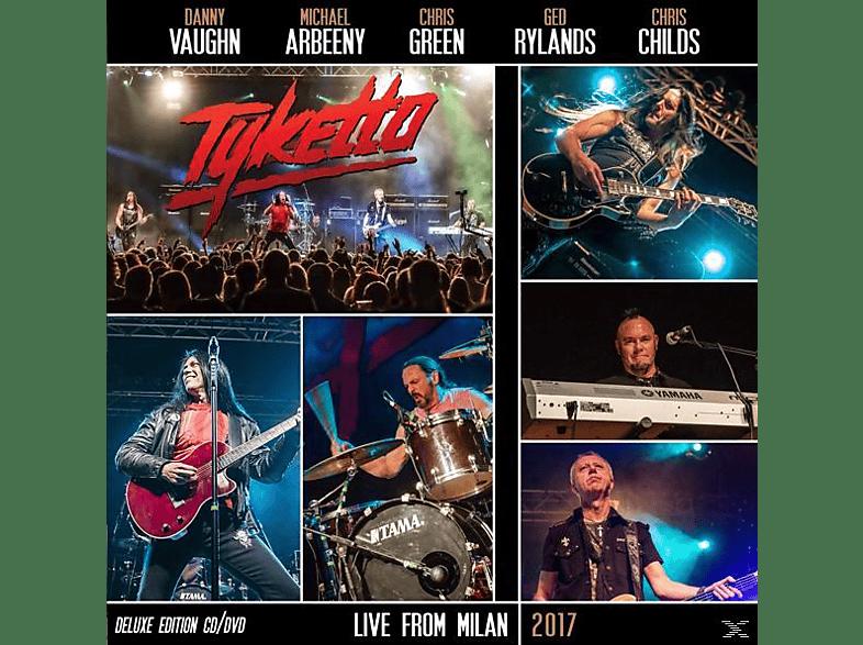 Tyketto - Live From Milan 2017 (Ltd.Gatefold/Black Vinyl) [Vinyl]