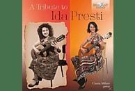 Cinzia Milani - A Tribute To Ida Presti-Music For Solo Guitar [CD]