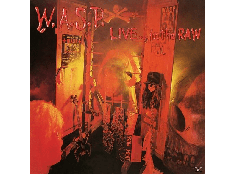 W.A.S.P. - Live-In The Raw [Vinyl]