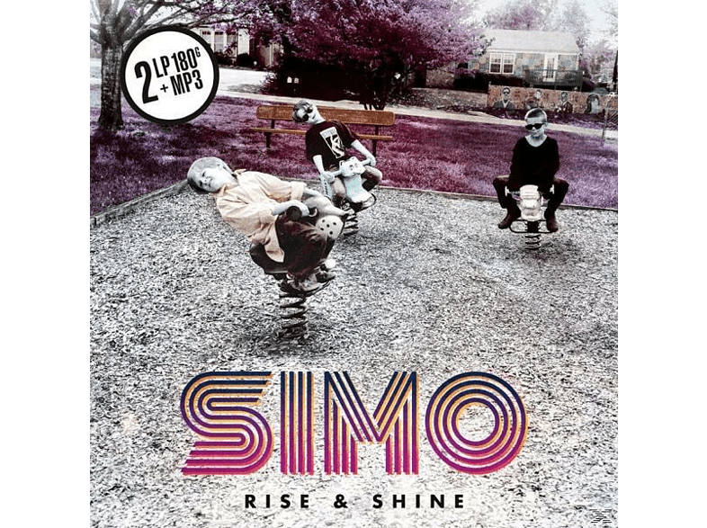 Simo - Rise & Shine (2LP 180 Gr.Black Vinyl+MP3) [LP + Download]