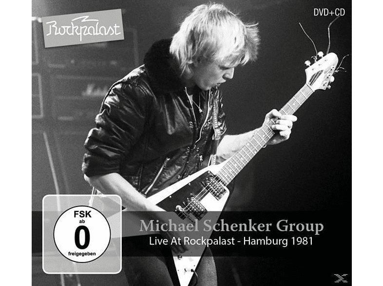 Michael Schenker Group - Live At Rockpalast-Hamburg 1981 [CD + DVD Video]