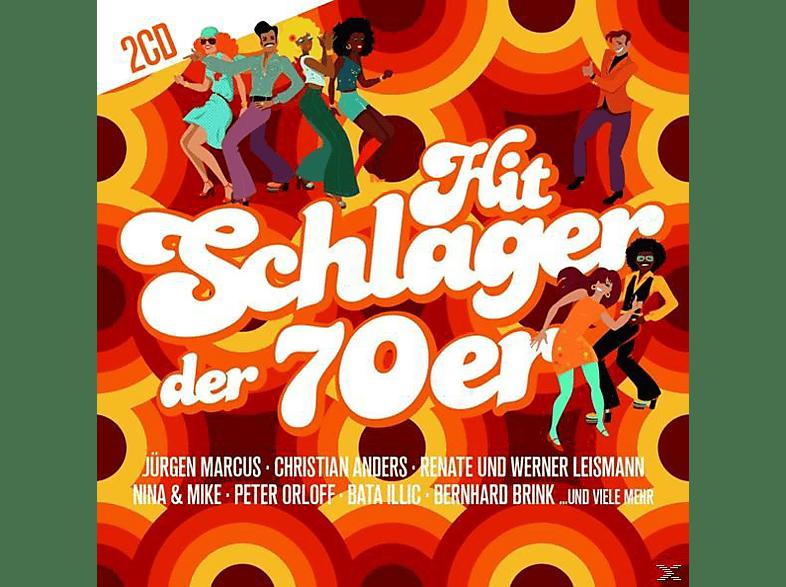 VARIOUS - Hit Schlager der 70er [CD]