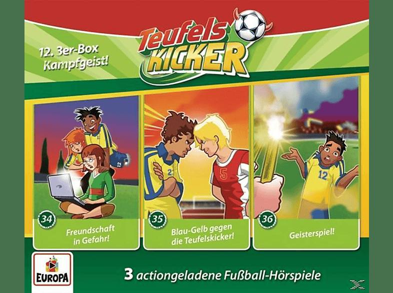 Teufelskicker - 12/3er Box (Folgen 34,35,36) - (CD)
