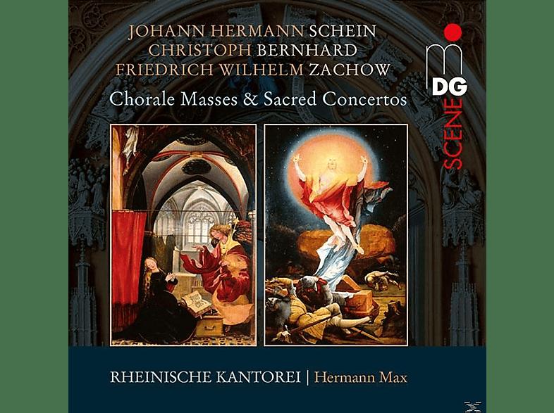 Rheinische Kantorei - Choralmessen und Geistliche Konzerte [CD]