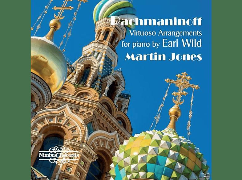 Martin Jones - Virtuose Arrangements für Klavier von Earl Wild [CD]