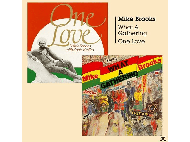 Mike Brooks - What A Gathering/One Love [CD]