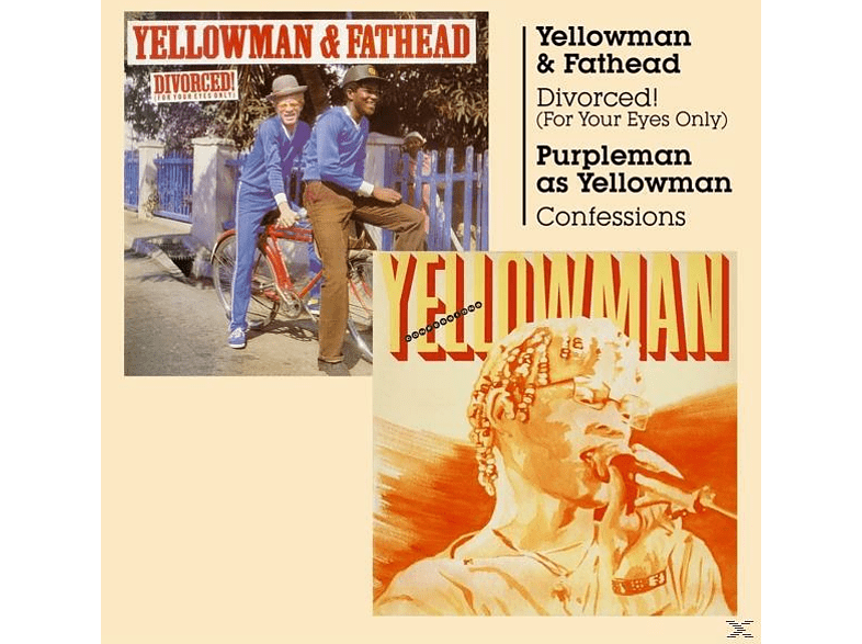 Yellowman / Fathead - Divorced (For Your Eyes Only)/Confessions [CD]