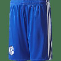 ADIDAS FC Schalke 04 Short, Weiß/Blau