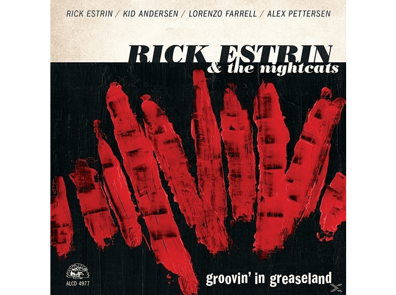 Rick & The Nichtcats Estrin - Groovin' In Greaseland [CD]