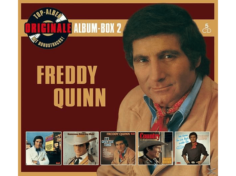 Freddy Quinn - Originale Album-Box 2 (Deluxe Edition) [CD]