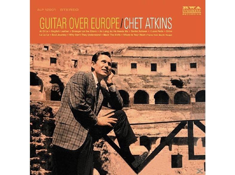 Chet Atkins - Guitar Over Europe [Vinyl]