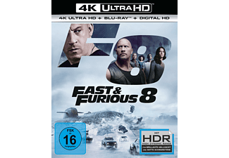 Fast & Furious 8 - (4K Ultra HD Blu-ray + Blu-ray)