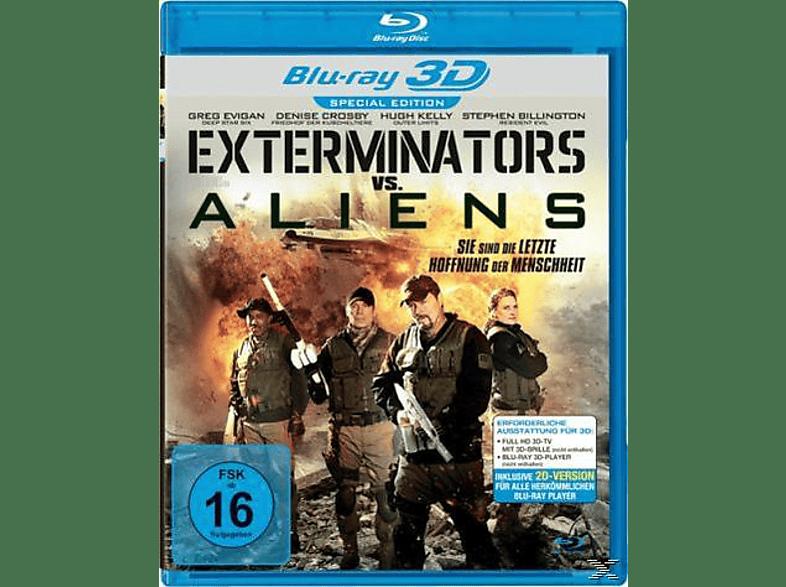 Exterminators vs. Aliens - Sie sind die letzte Hoffnung der Menschheit [3D Blu-ray]