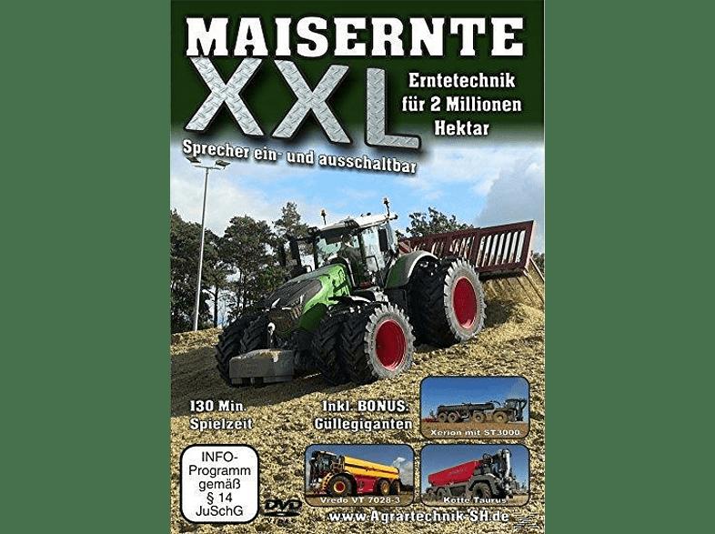 Maisernte XXL - Erntetechnik für 2 Millionen Hektar [DVD]