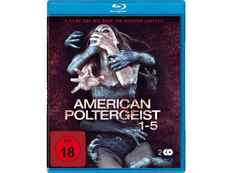 American Poltergeist 1-5 [Blu-ray]