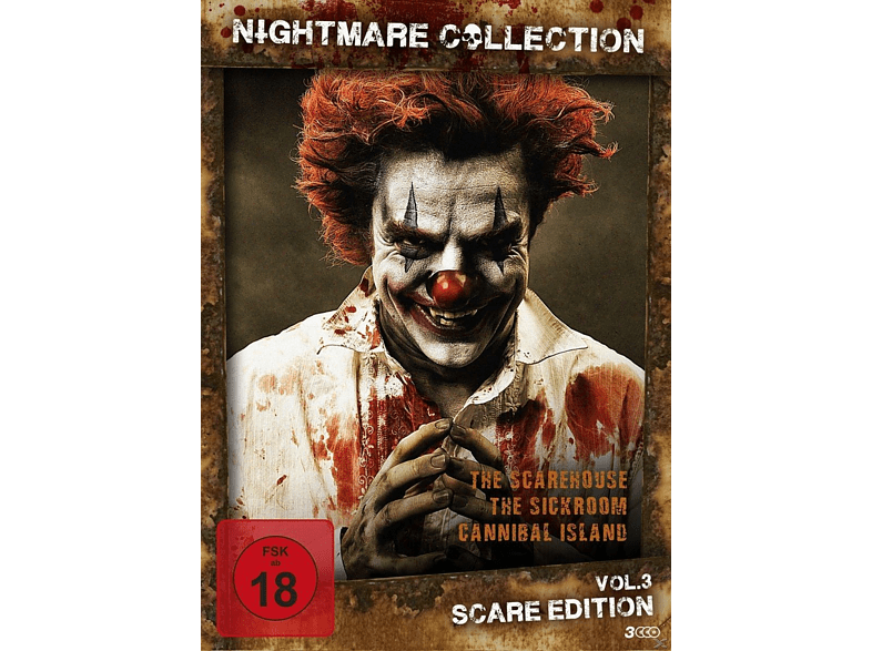 Nightmare Collection Vol. 3 - Scare Edition [DVD]
