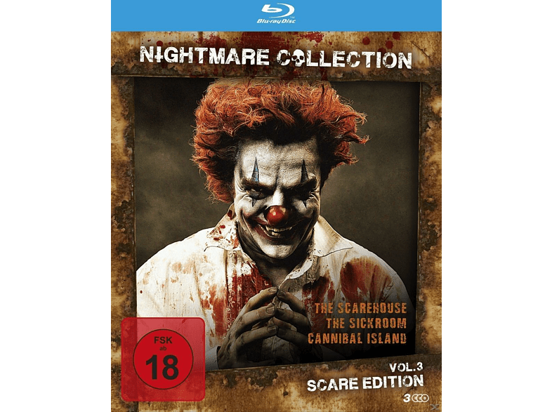 Nightmare Collection Vol. 3 - Scare Edition [Blu-ray]