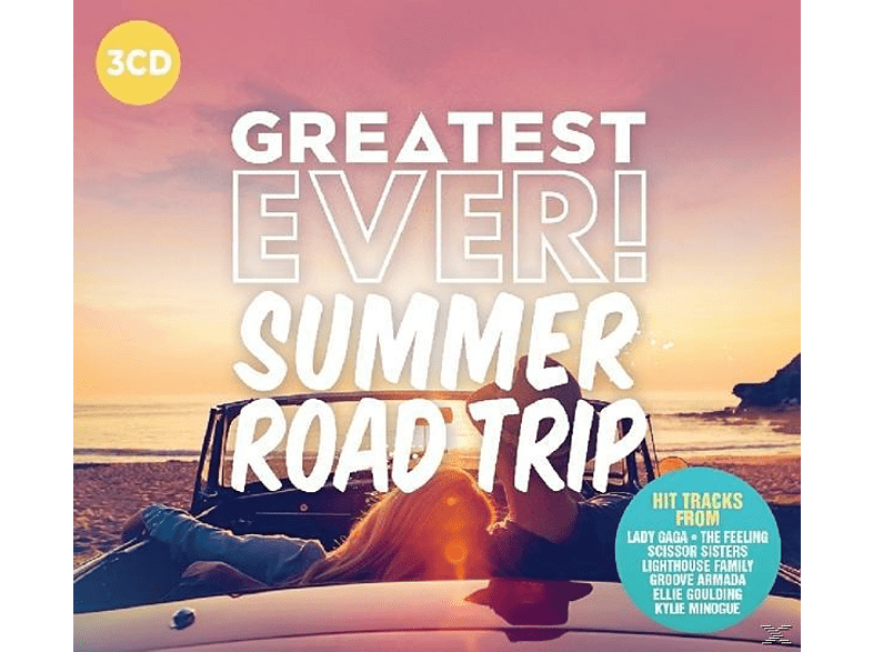 VARIOUS - Summer Road Trip-Greatest Ever [CD]