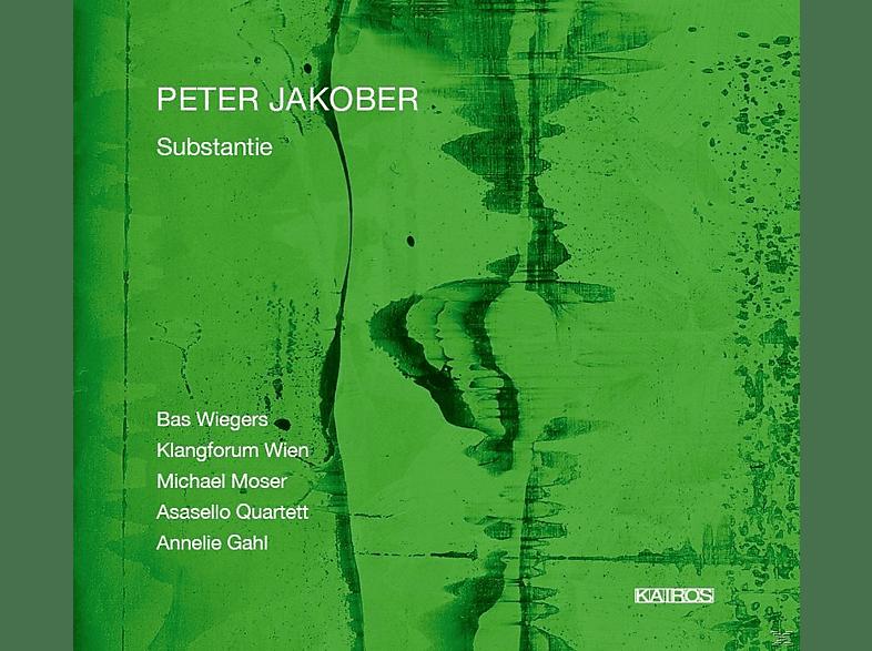 Bas Wiegers, Annelie Gahl, Klangforum Wien, Asasello Quartett - Substantie [CD]
