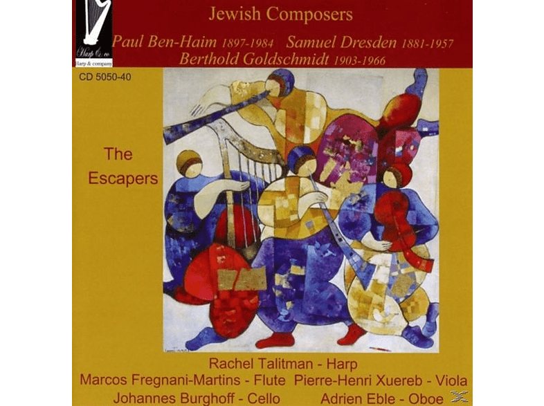 Rachel/xuereb/fregnani-martins/eble/burgh Talitman - Jewish Composers The Escapers [CD]